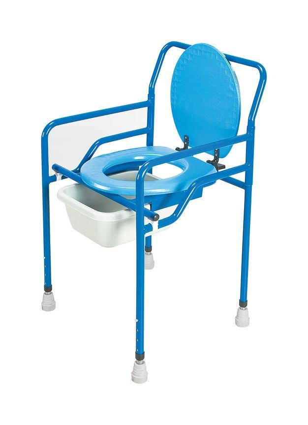 Tekerlekli Sandalye Hasta Komot Tuvalet Sandalyesi