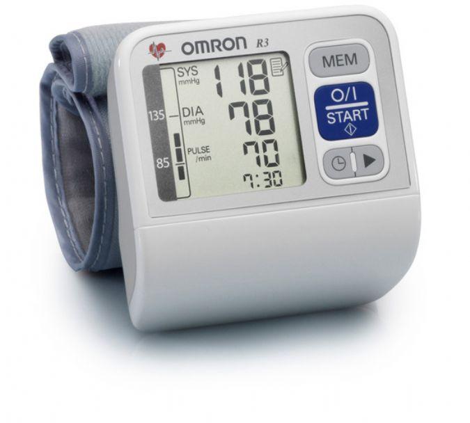 Omron r3 dijital bilekten ölçer tansiyon aleti 60 hafıza